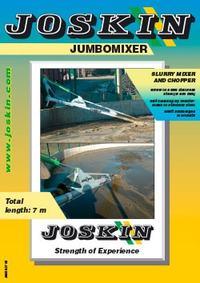 Jumbomixer slurry mixer