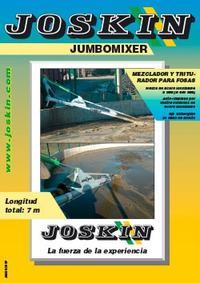 Mezclador y triturador para fosas Jumbomixer