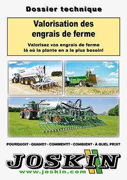 Valorisation des engrais de ferme