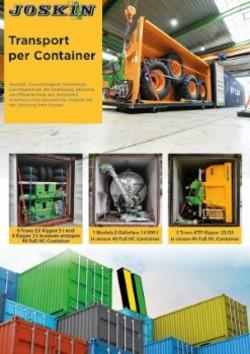 Transport container DE