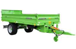 Tipping Trailers with Drop Sides TRANS-EX