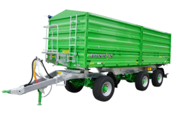 Tipping Trailers with Drop Sides TETRA-SPACE
